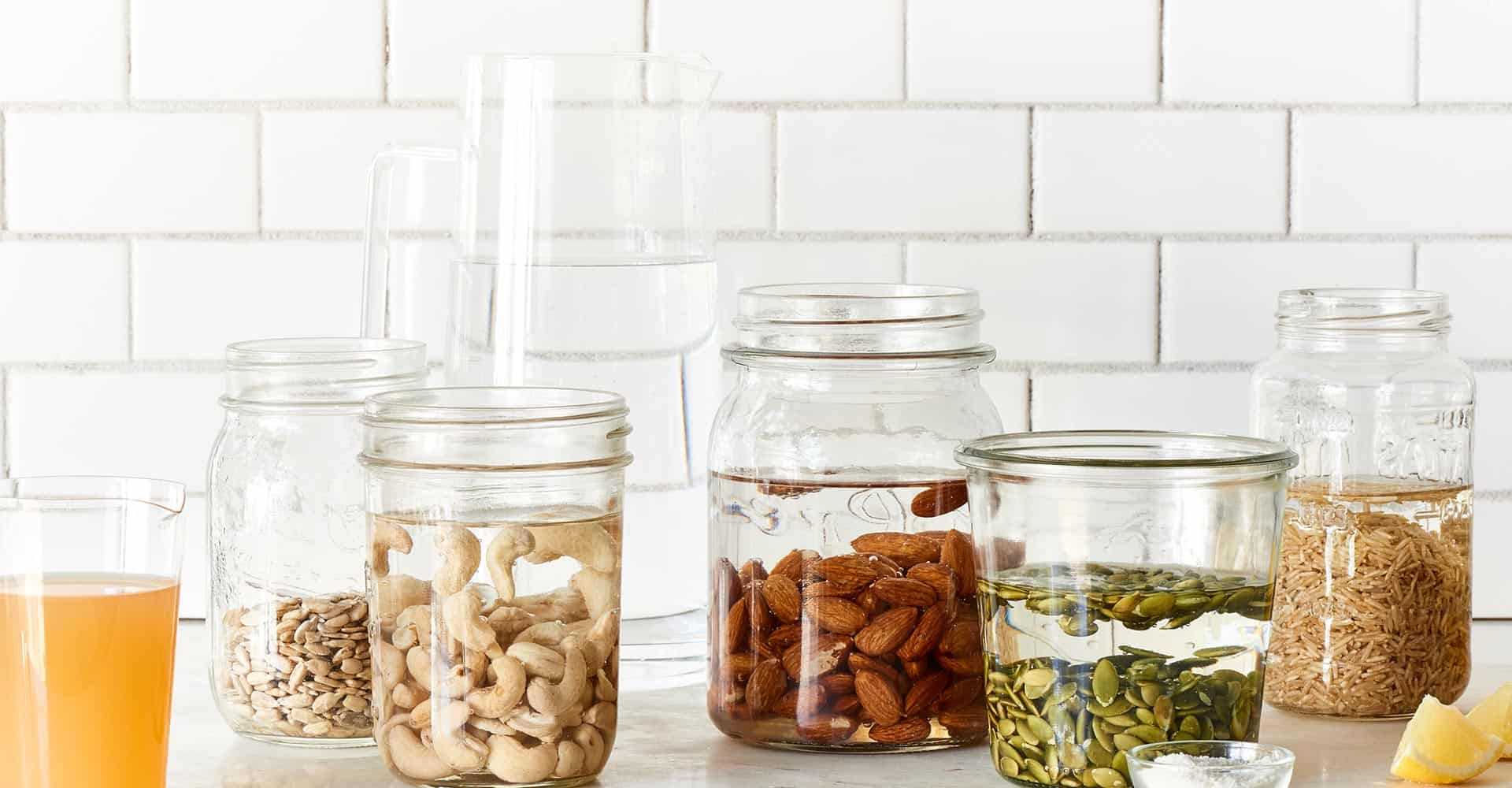 Soaking Nuts, Seeds, and Grains For Better Health - The