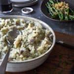 Garlic Olive Oil Mashed Potatoes
