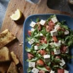 Tomato Salad with Tomato and Arugula