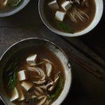 Vegan Ramen in bowls
