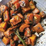 Ottolenghi's Roasted Butternut Squash with Cardamom and Nigella Seeds