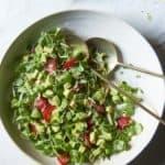 Strawberry Avocado Mâche Salad