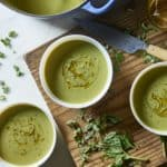 Green Pea Soup from Anna Jones