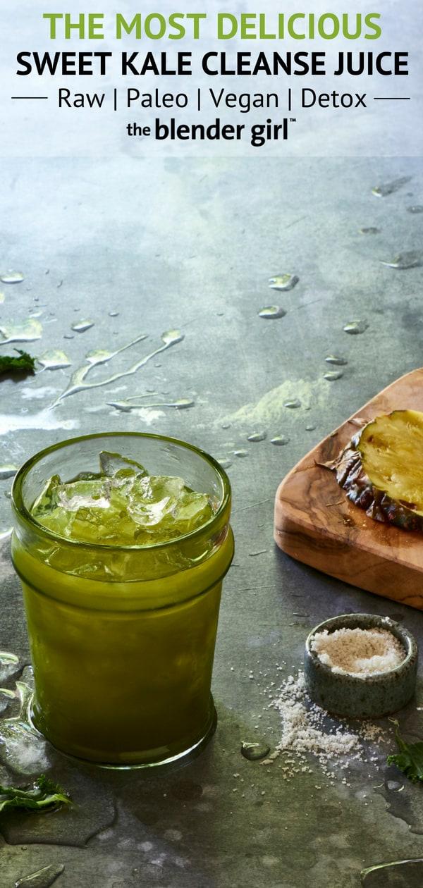 Mint Pineapple Ginger Kale Juice