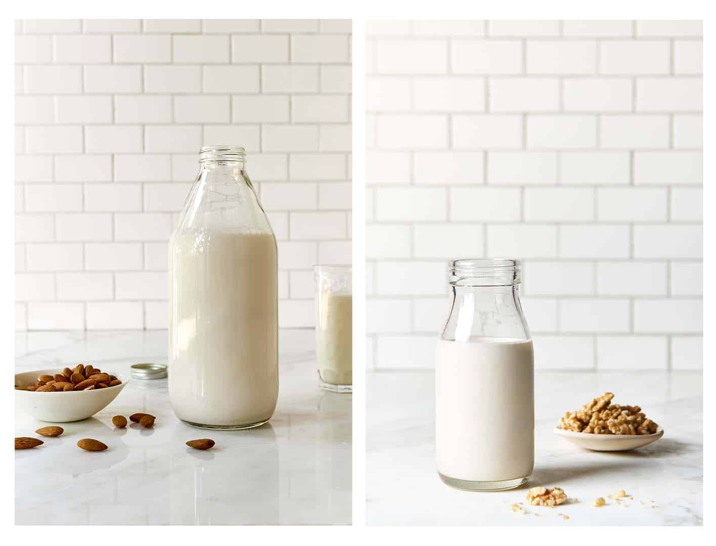 Plant Based Milk and Nut Milk - How To Make Them - The