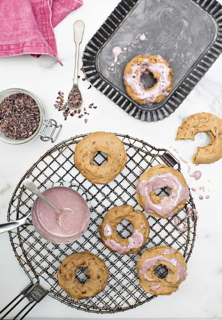 Baked Vegan Gluten Free Donuts