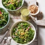 Arugula Salad with Lemon Mint Vinaigrette